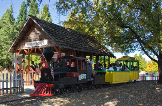 Apple Hill California Train Ride