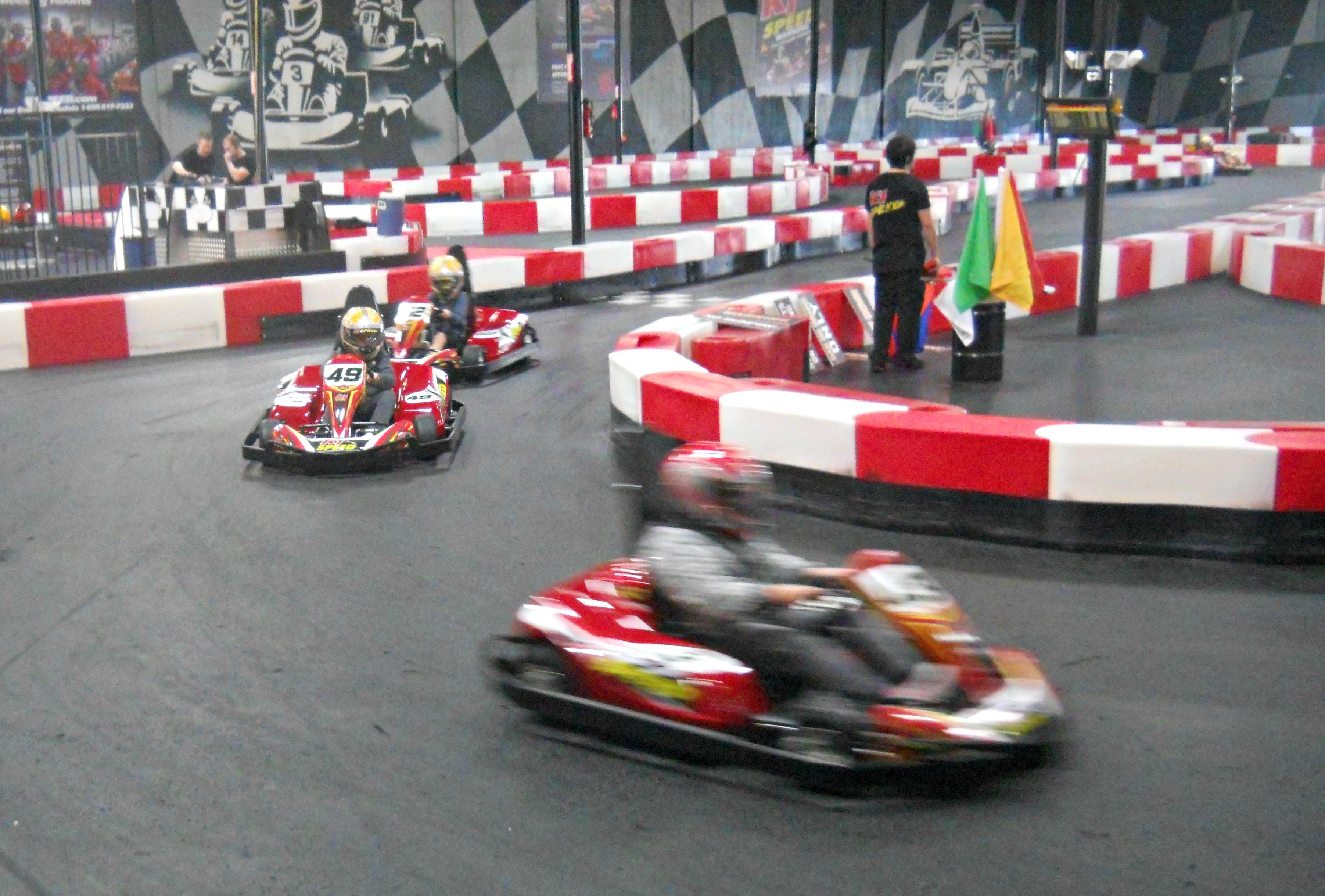 Electric Indoor Kart Racing Opens in Rancho Cordova ...