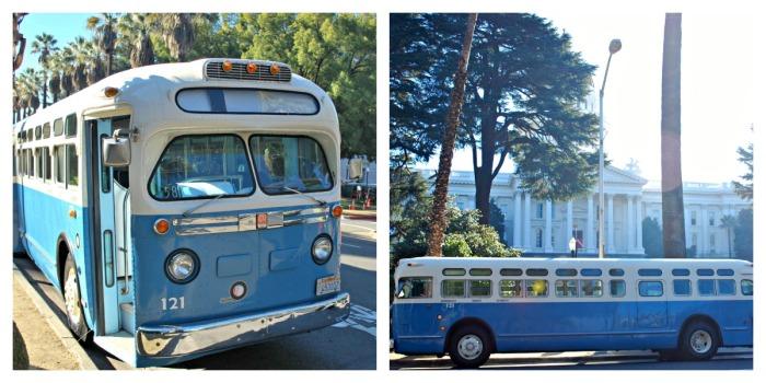 Replica of Rosa Parks Bus