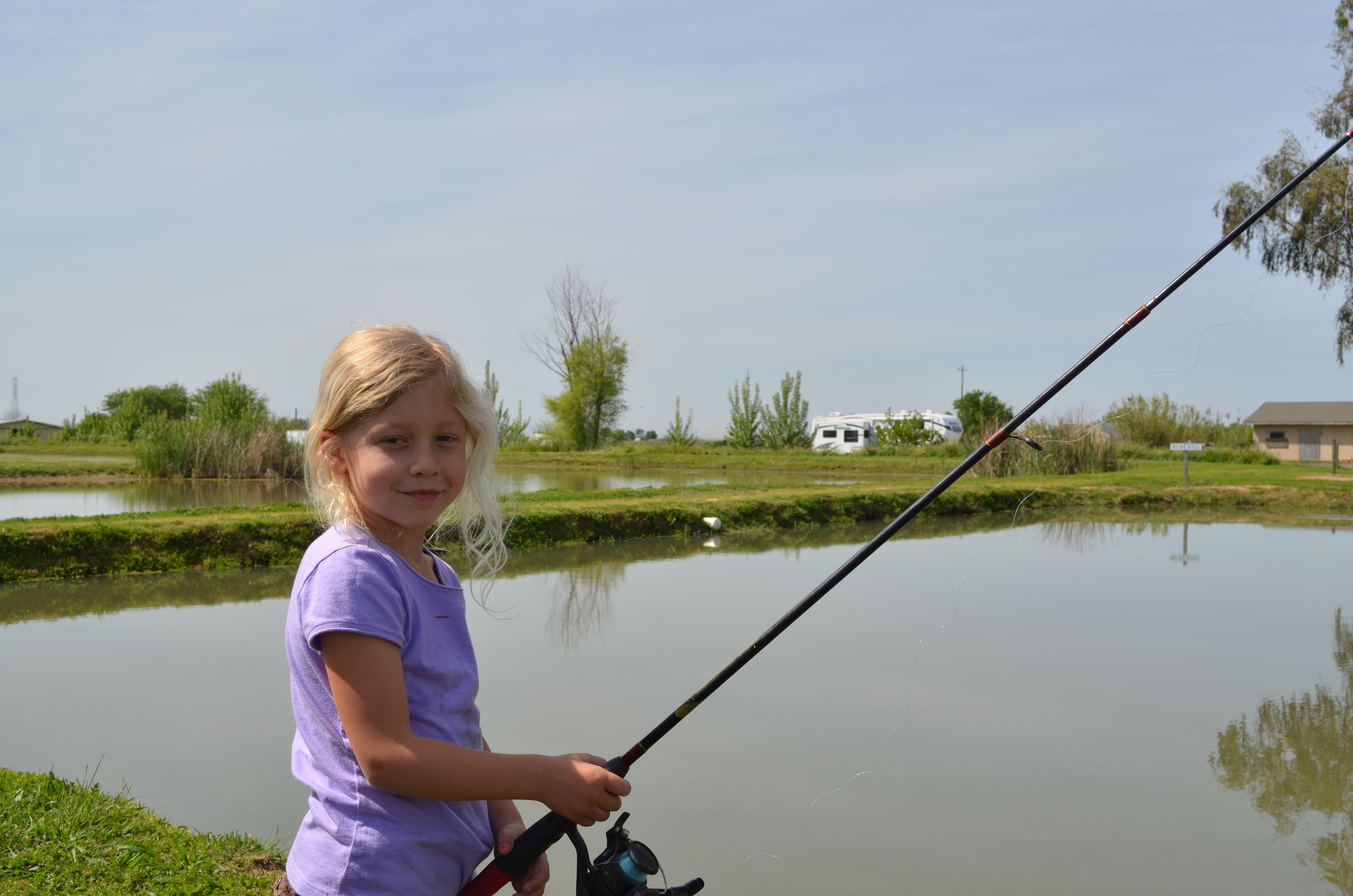 Fishing with kids in Sacramento