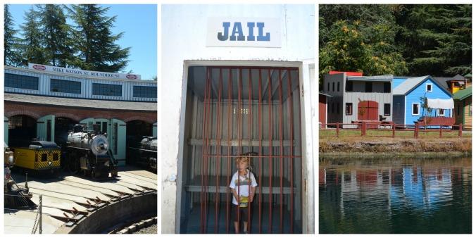Sonoma Train Town Collage 2