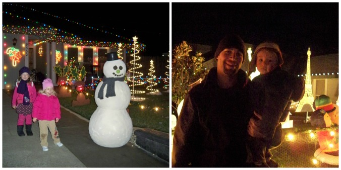 Holiday Lights collage
