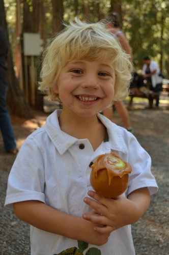 Caramel Apple at Apple Hill