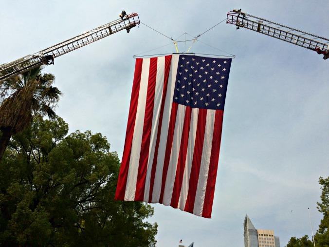 US Flag Sacramento