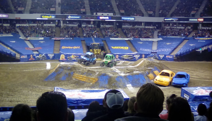 Monster Jam Sacramento 1