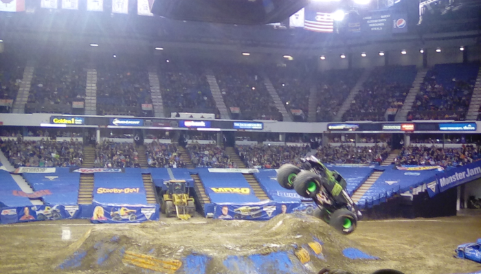 Monster Jam Sacramento 2