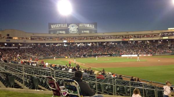 River Cats at Raley Field