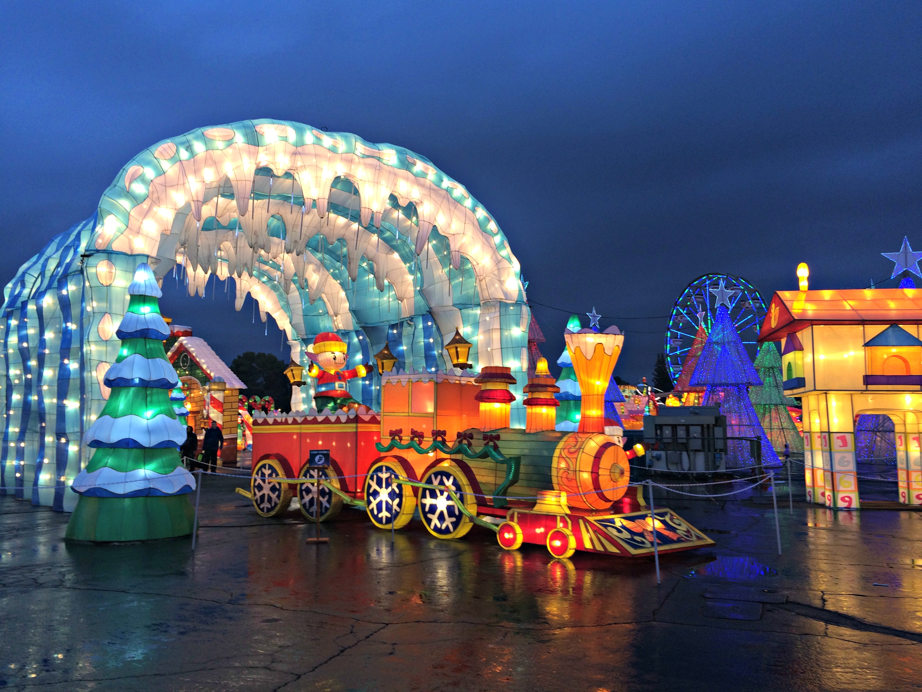 global winter wonderland is back for its third year at sacramentos cal expo